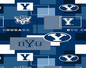 Brigham Young University Cougars fabric