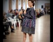 Gray women s jacket Mosaic