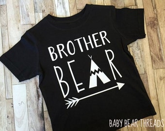 Brother Bear - Baby Bodysuit - Kid Shirt - Teepee Tribal