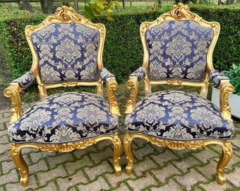 Vintage Chair French Chair Vintage Furniture *7 Pieces Available* Settee Baroque Furniture Rococo Vintage Sofa French Settee Interior Design