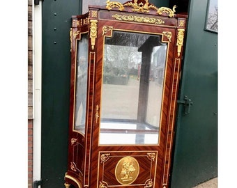 French Vitrine 1 AvailableVintage Display Cabinet French Louis XVI Vintage Furniture Rococo Furniture Baroque Interior Design French Display