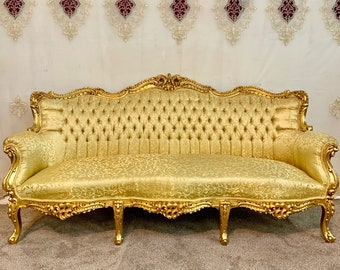 Vintage Chair French Chair Vintage Furniture Settee Interior Designer *3 Piece Available Baroque Furniture Rococo Vintage Sofa French Settee