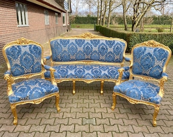 Vintage Chairs Sofa SETS
