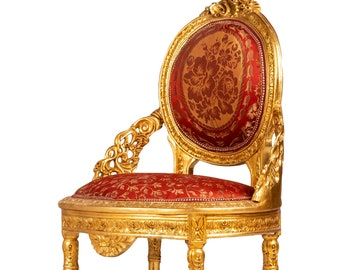 French Chair *3 Piece Set Available* French Settee Vintage Furniture Antique Baroque Furniture Rococo Interior Design Vintage Chair