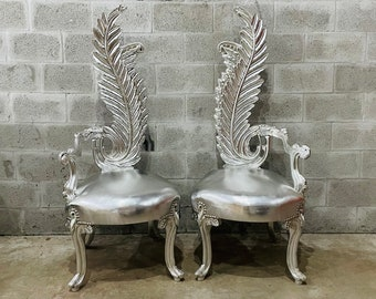 Vintage Chair French Chair Vintage Furniture Interior Designer *2 Available* Baroque Furniture Rococo Vintage Chair French Chair