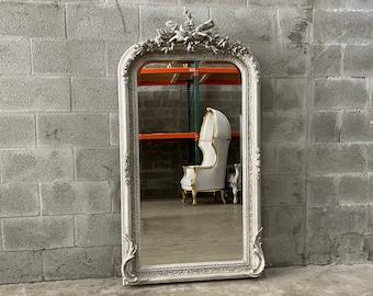 French Mirror French Baroque Mirror Rococo Mirror Antique Mirror 5 Feet Tall Antique Furniture French Interior Design
