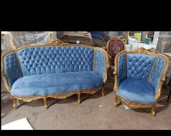 Vintage Chairs Sofa SETS