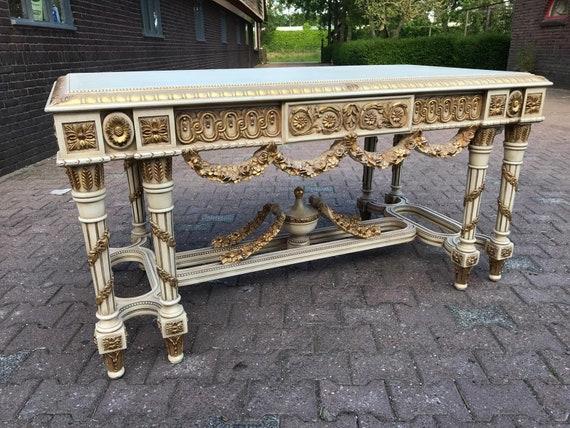 Baroque Desk Rococo Furniture Vintage Desk French Desk Etsy
