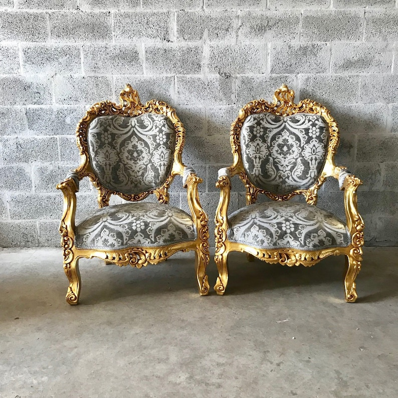 Fantastic Rococo Throne Sofa French Furniture 3 Piece Availabl French Chairs Louis Xvi Furniture Rococo Chair Gold Frame Interior Design Baroque Chair Gmtry Best Dining Table And Chair Ideas Images Gmtryco