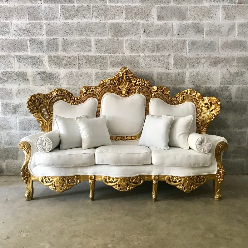 Incredible Baroque Sofa Throne Furniture Rococo Sofa French Furniture Throne Settee New Upholstery Interior Design Fast Delivery Home Interior And Landscaping Dextoversignezvosmurscom