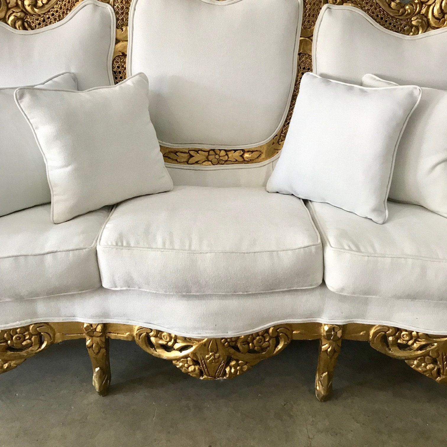 Outstanding Baroque Sofa Throne Furniture Rococo Sofa French Furniture Home Interior And Landscaping Dextoversignezvosmurscom