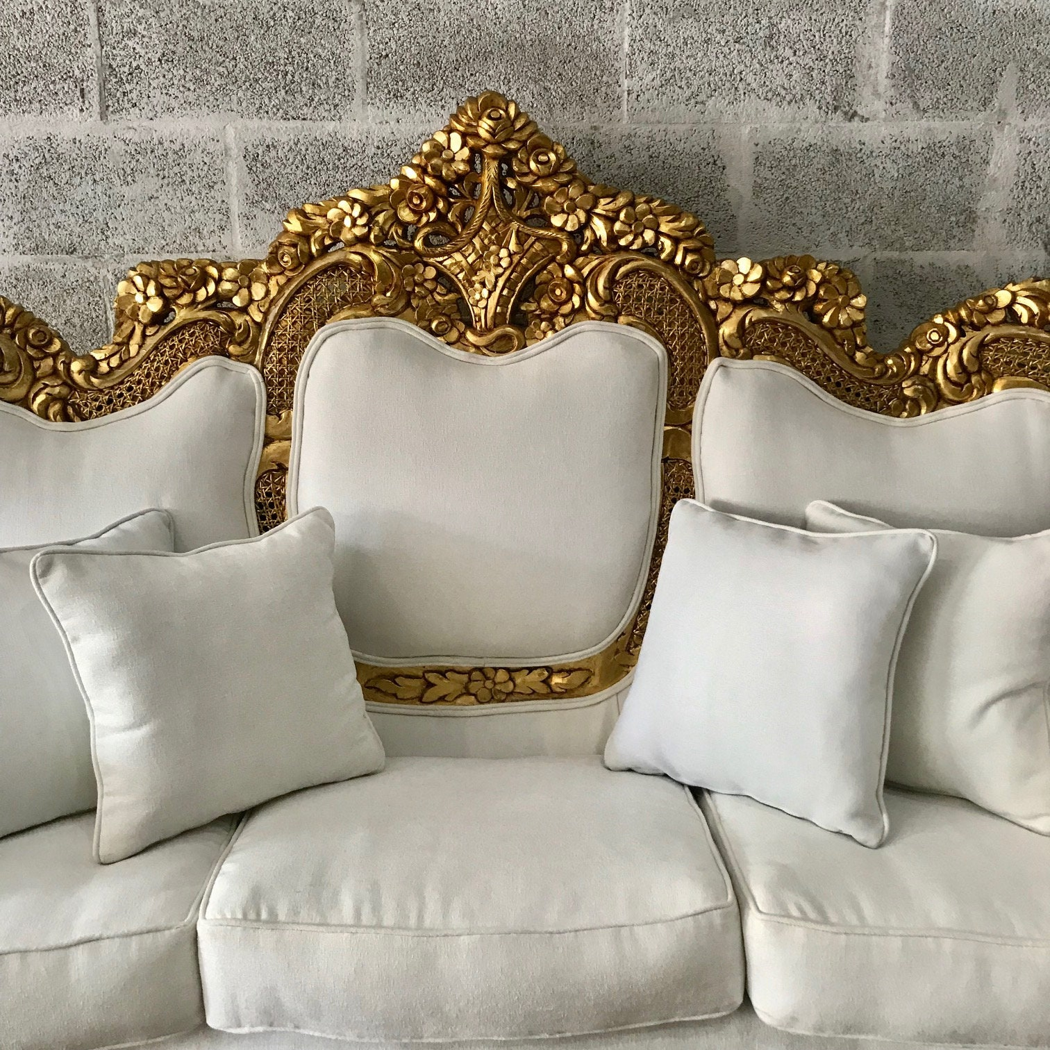 Superb Baroque Sofa Throne Furniture Rococo Sofa French Furniture Home Interior And Landscaping Dextoversignezvosmurscom