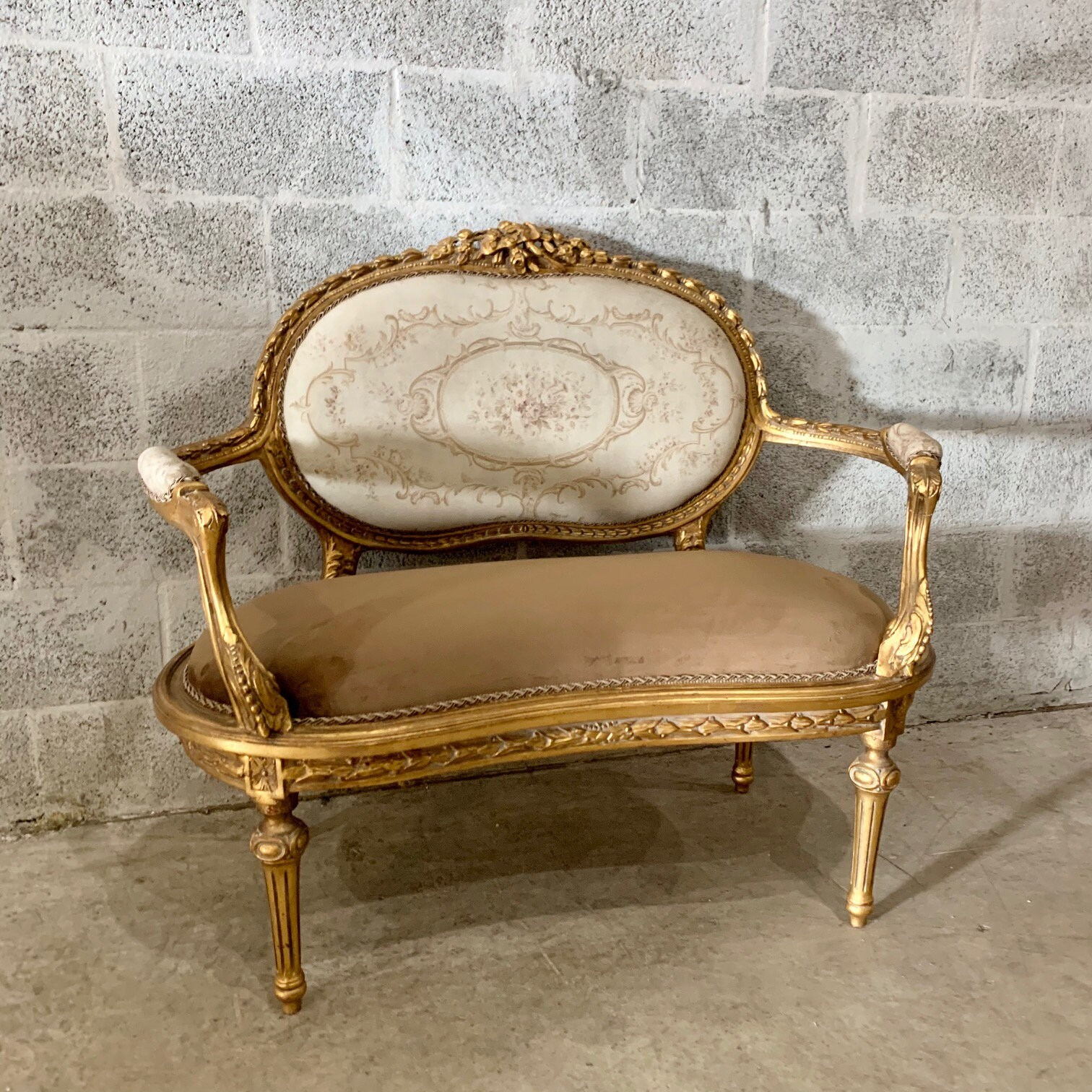 Astonishing French Marquise French Sofa Furniture Baroque Furniture Evergreenethics Interior Chair Design Evergreenethicsorg