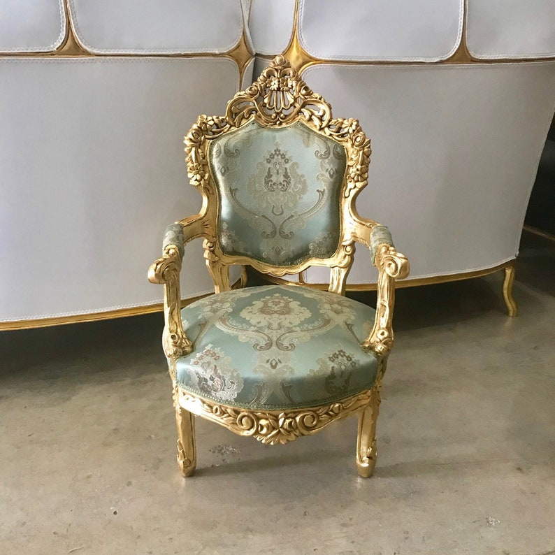 Baroque Chair Rococo Chair 2 Available French Chair French Etsy