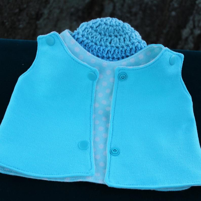 Micro premie Reversible NICU IV-Shirt and Hat.NICU hospital gown.Nicu micro preemie clothes.Micro Premie Girl Clothes.