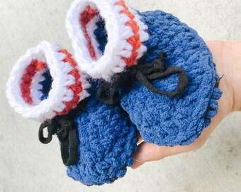 YEG Hockey Fan Slippers - winter booties