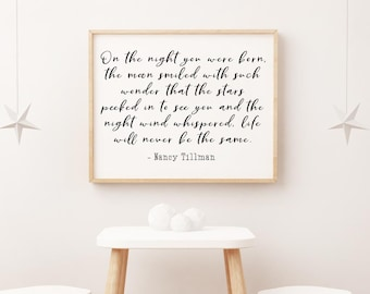 Nursery Quote Etsy