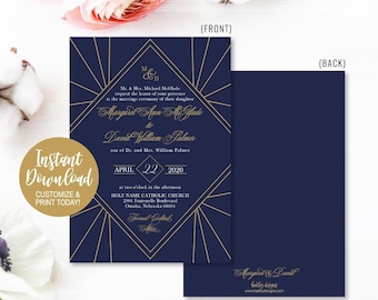 cheap wedding invitations etsy
