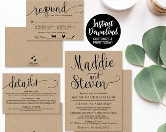 Lds Wedding Invite