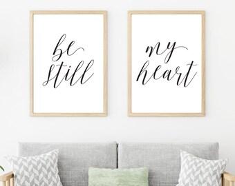 Be Still My Heart Etsy
