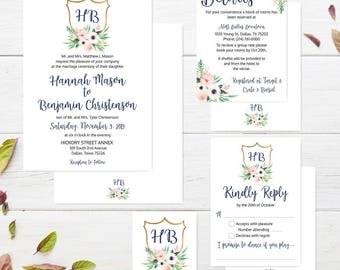 Cheap wedding invitation etsy quick view wedding invitations with rsvp packages wedding invitations cheap filmwisefo