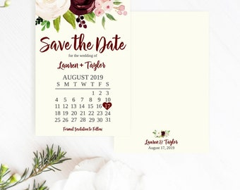 save the date idea etsy