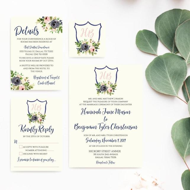Wedding Invite Printable Wedding Invitation Templates Online Best