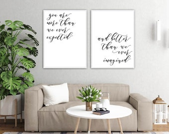 Home Decoration, Bedroom Wall Decor Ideas, Minimalist Artwork, Wall Art Prints Black and White Large, Calligraphy Printable, Bedroom Decor