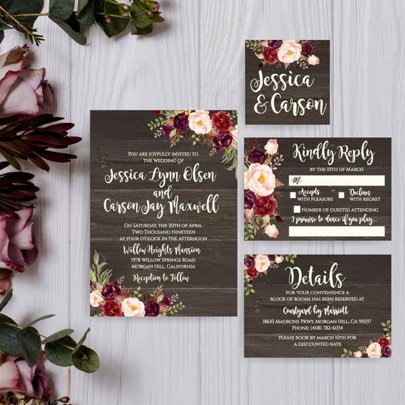 Wedding Invitations Cheap Online Wedding Invitations Downloadable Wedding Invitations Online Digital Homemade Wedding Invitations Kits