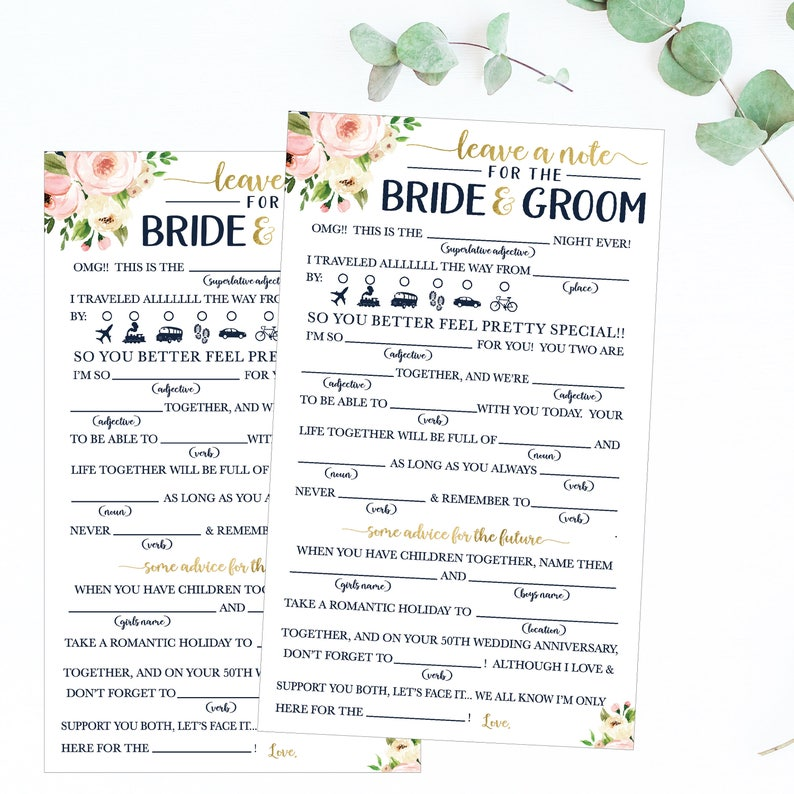 photograph relating to Printable Mad Libs for Teens known as Printable Wedding ceremony Shower Online games Ridiculous Libs, Entertaining Bridal Shower Online games Template, Relationship Tips For The Newlyweds, Amusing Marriage ceremony Guidance For Bride