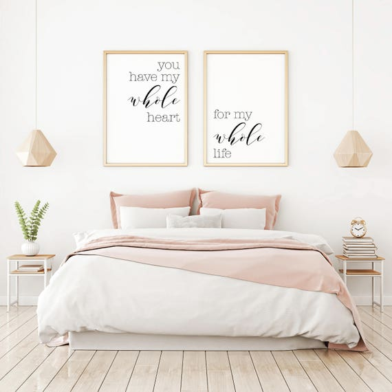 Bedroom Wall Decor Ideas Home Decor Wall Art Master