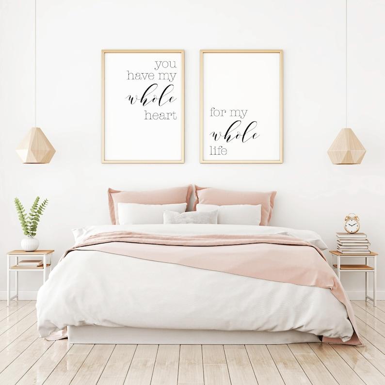 Bedroom Wall Decor Ideas Home Decor Wall Art Master