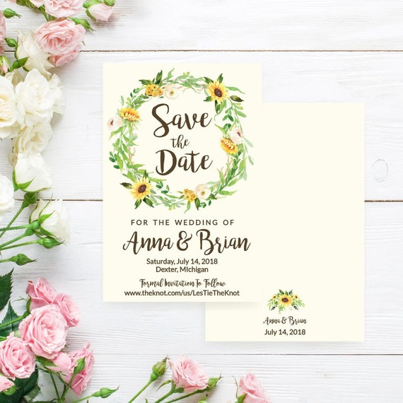 save the date template online save the date card printable etsy