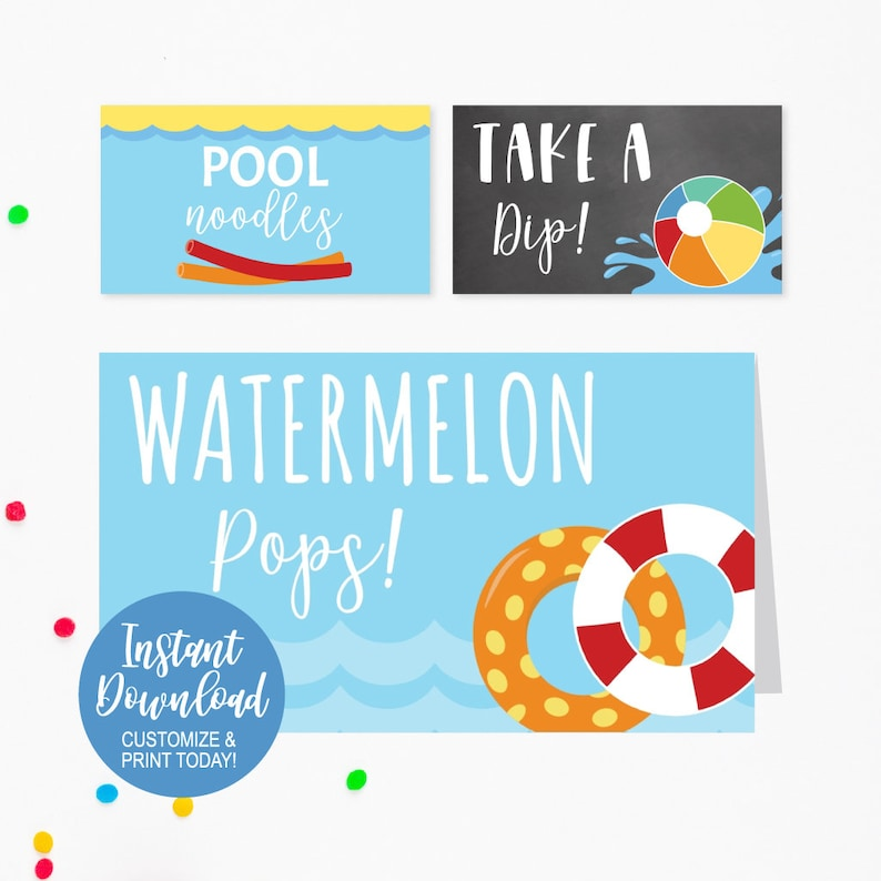 Place Tent Cards Food Tent Labels Editable Food Labels Printable Printable Party Decorations Tented Place Cards Printable Food Tags