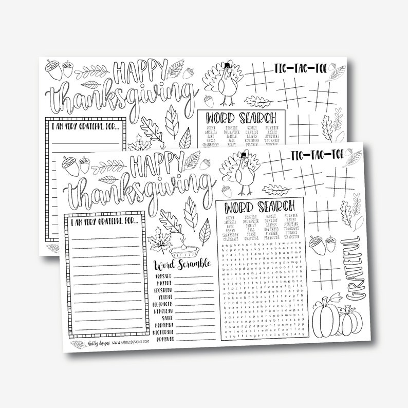 image regarding Printable Thanksgiving Placemat named Thanksgiving Coloring Placemats Template - Printable Thanksgiving Placemat, Thanksgiving Young children Desk, Little ones Video game, Young children Placemat,