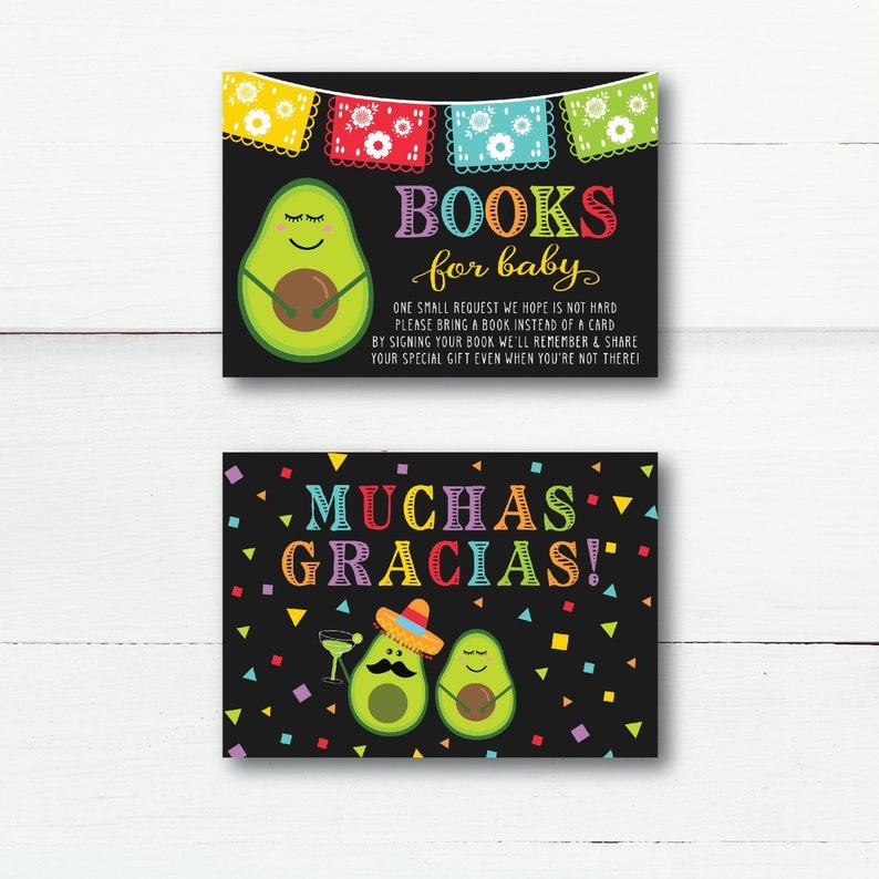 Hadley Design Baby Shower Book Request Fiesta Holy Guac Baby Shower Book Request Card Baby Shower Games Printable DIY Edit Yourself