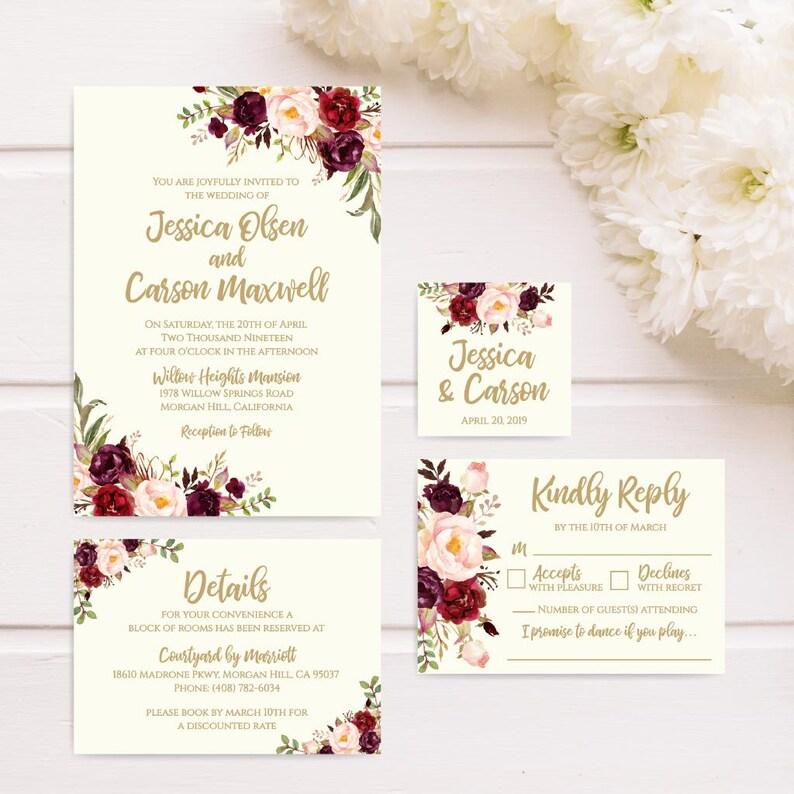 Wedding Invite Printable Invitation Templates Online Best DIY Invitations Religious Affordable