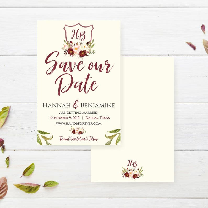 e98a9b729c Best Wedding Save The Dates Wedding Save The Date Ecard Save | Etsy