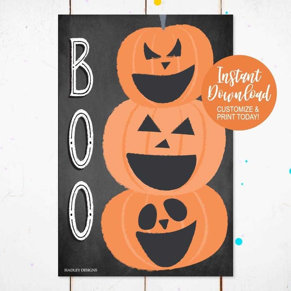 Terrific Halloween Bean Bag Toss Halloween Toss Game Fall Corn Hole Boo Game Diy Printable Template Personalized Digital Custom Print Pdf Onthecornerstone Fun Painted Chair Ideas Images Onthecornerstoneorg