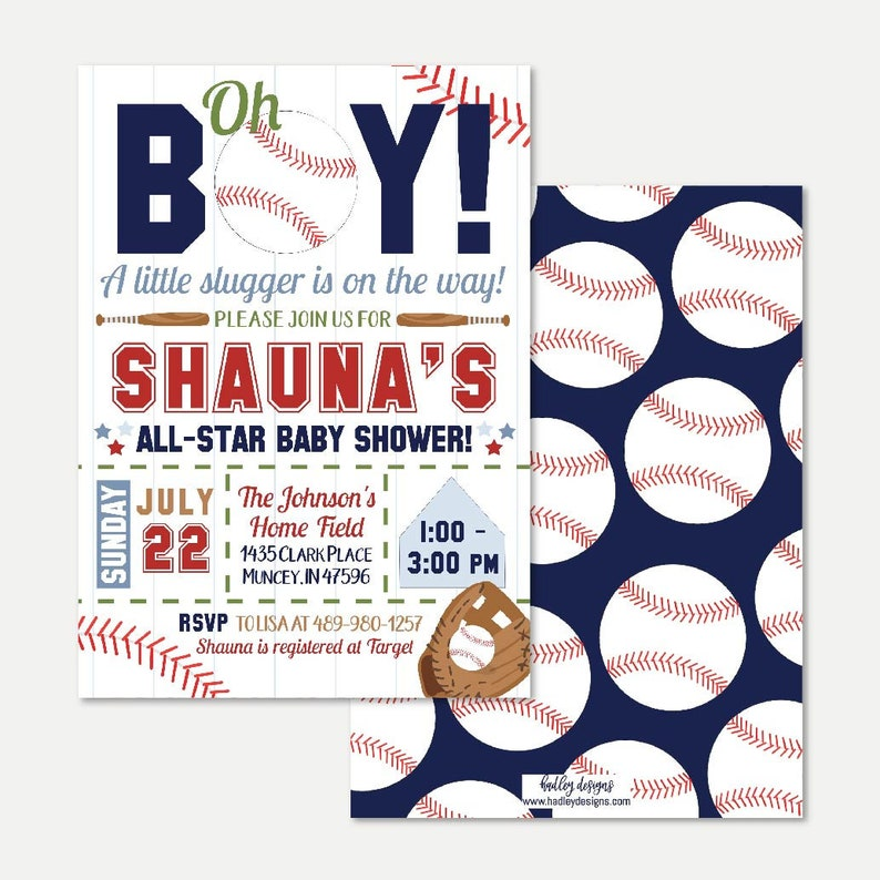graphic about Free Printable Baseball Baby Shower Invitations identified as Baseball Boy or girl Shower Invitation Template - Cost-effective Boy or girl Shower Invite, Editable Invites, Editable PDF, Hadley Layouts