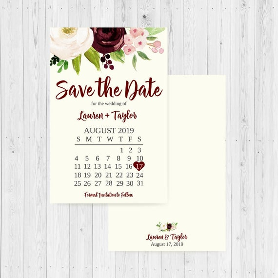 printable save the date wedding invitations save the dates etsy