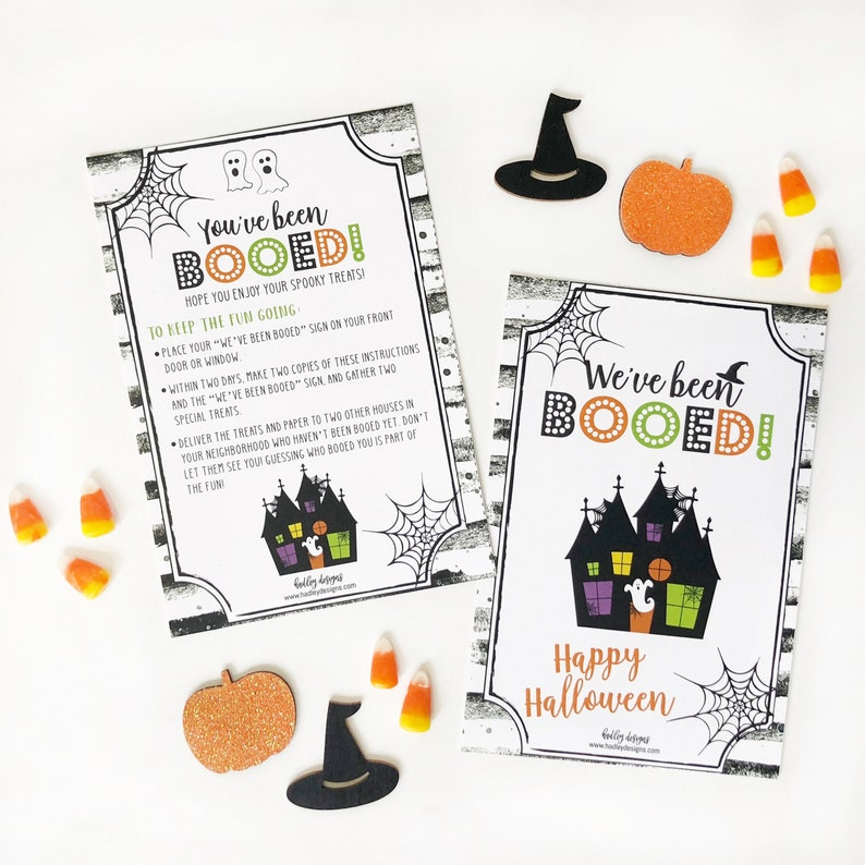 image relating to You've Been Booed Printable Pdf called Youve Been Booed Indicator Template - Youve Been Booed Halloween Handle Indication, Youve Been Booed Halloween Template, Halloween Backyard garden Decoration