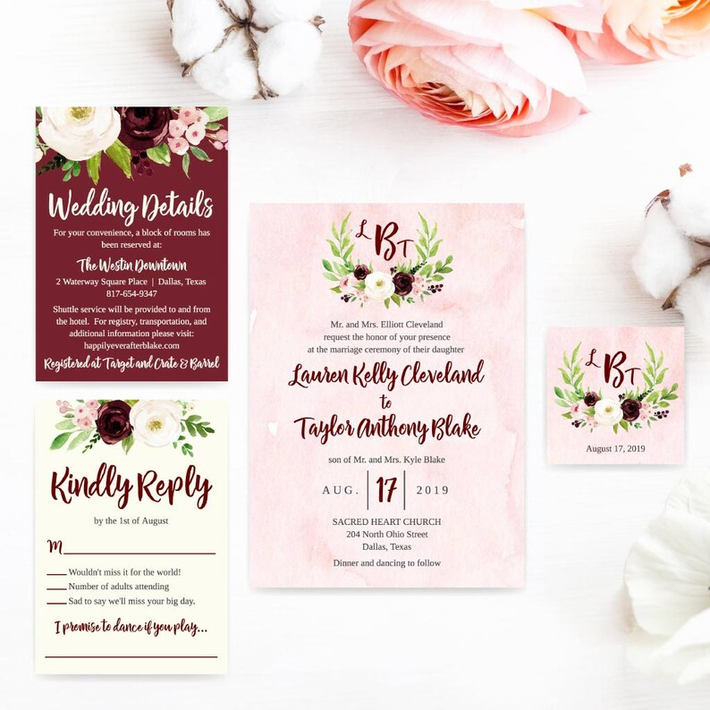 DIY Wedding Invitations Affordable Affordable Wedding Invitations Online LDS Wedding Invite Template Wedding Invitations DIY Printable