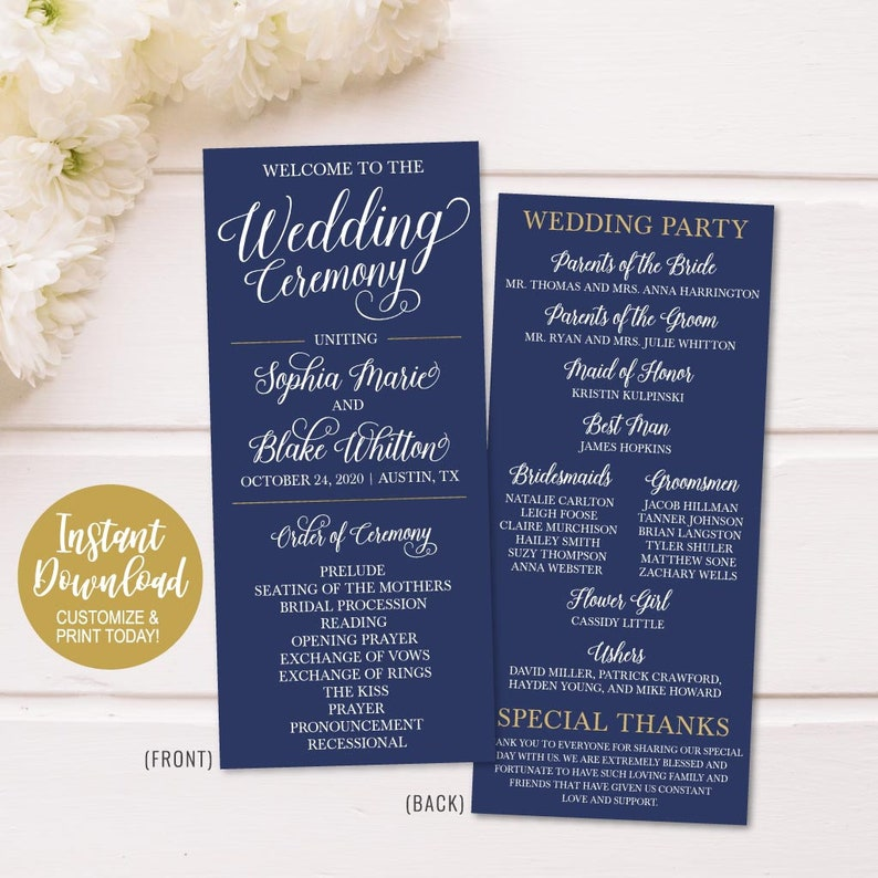 Wedding Ceremony Programs.Wedding Ceremony Program Funny Printable Wedding Programs Online Wedding Program Layout Ideas Wedding Program Thank You Parents