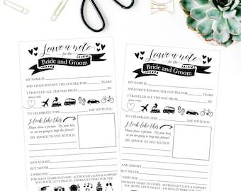 Funny Advice For The Newlyweds Mad Libs, Bridal Shower Advice Card Ideas, Funny Wedding Advice For Bride and Groom, Wedding Advice Printable