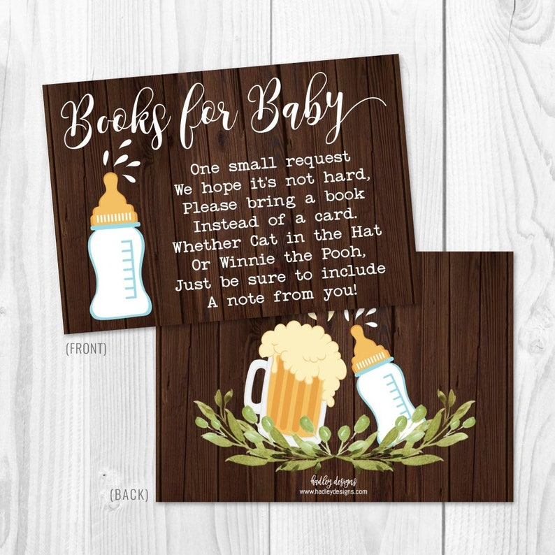 Edit Yourself Baby Shower Book Request Baby Shower Games Printable A Baby Is Brewing Baby Shower Book Request Template