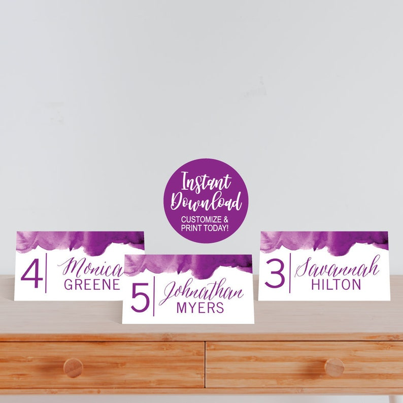 Escort Cards Wedding Place Cards Download Place Cards Template for Weddings Tent Place Cards Wedding Editable Place Cards Template