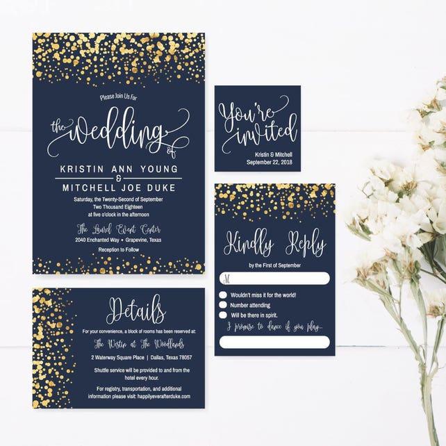 photo regarding Printable Invitations Kits known as Marriage Invite Printable, Wedding ceremony Invitation Templates