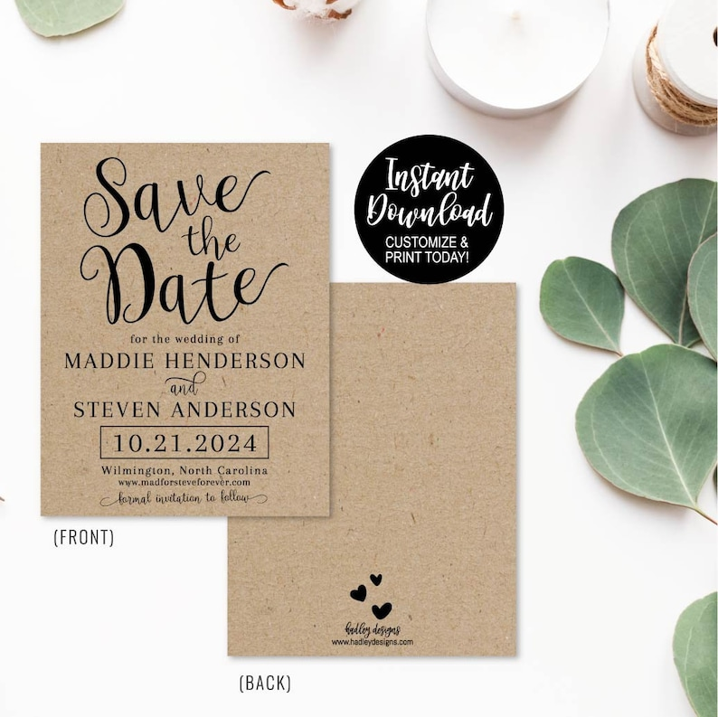 Save The Date Card Printable Save The Dates Online Save The Date Cards Wording Save The Date Invitation Save The Date For Weddings