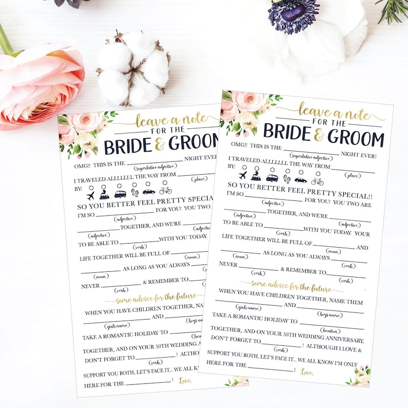 photo relating to Funny Mad Libs Printable known as Marriage ceremony Insane Lib Printable, Marriage Madlibs, Humorous Marriage ceremony Guidance Playing cards, Suggestions Card Template For Bridal Shower, Guidance For The Bride Playing cards